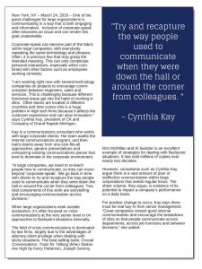 'Corporate Speak' Reduces Internal Communication to Background Noise pg2
